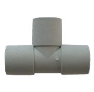 WD1327 Rigid Pipe Connector 28mm Push Fit Tee