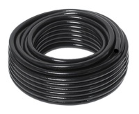 "H1CRF 12mm (1/2"") Black Reinforced Hose Pipe Cold (PER METRE)"