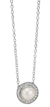 FLORENCE PEARL AND CRYSTAL NECKLACE