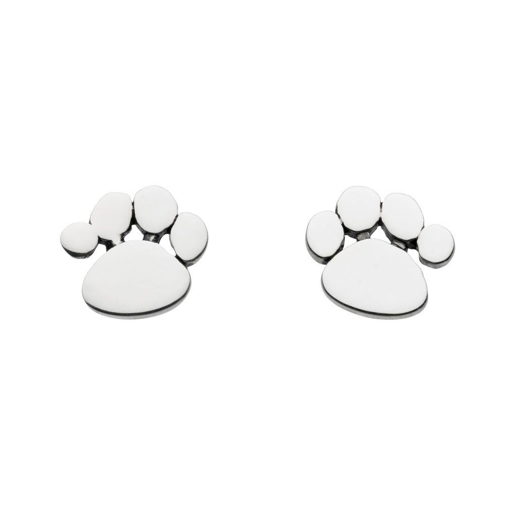 Paw Print Sud Earrings