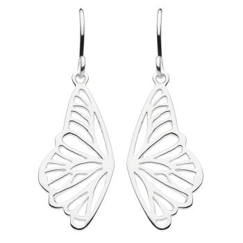 Filigree Butterfly Wing Earrings