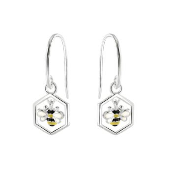 Busy Bee Drop Earrings
