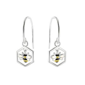 Busy Bee Drop Earrings