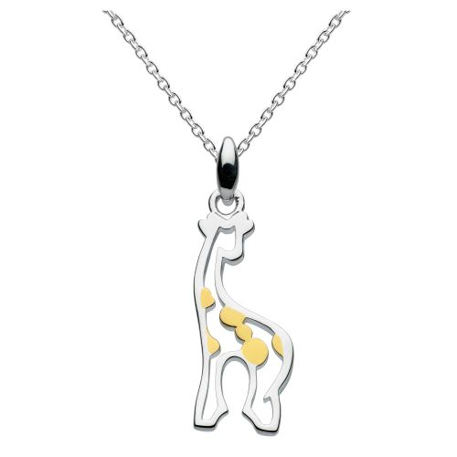 Giraffe Pendant on Adjustable Chain