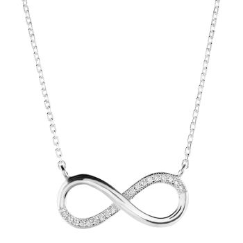 Infinity Necklace 17""