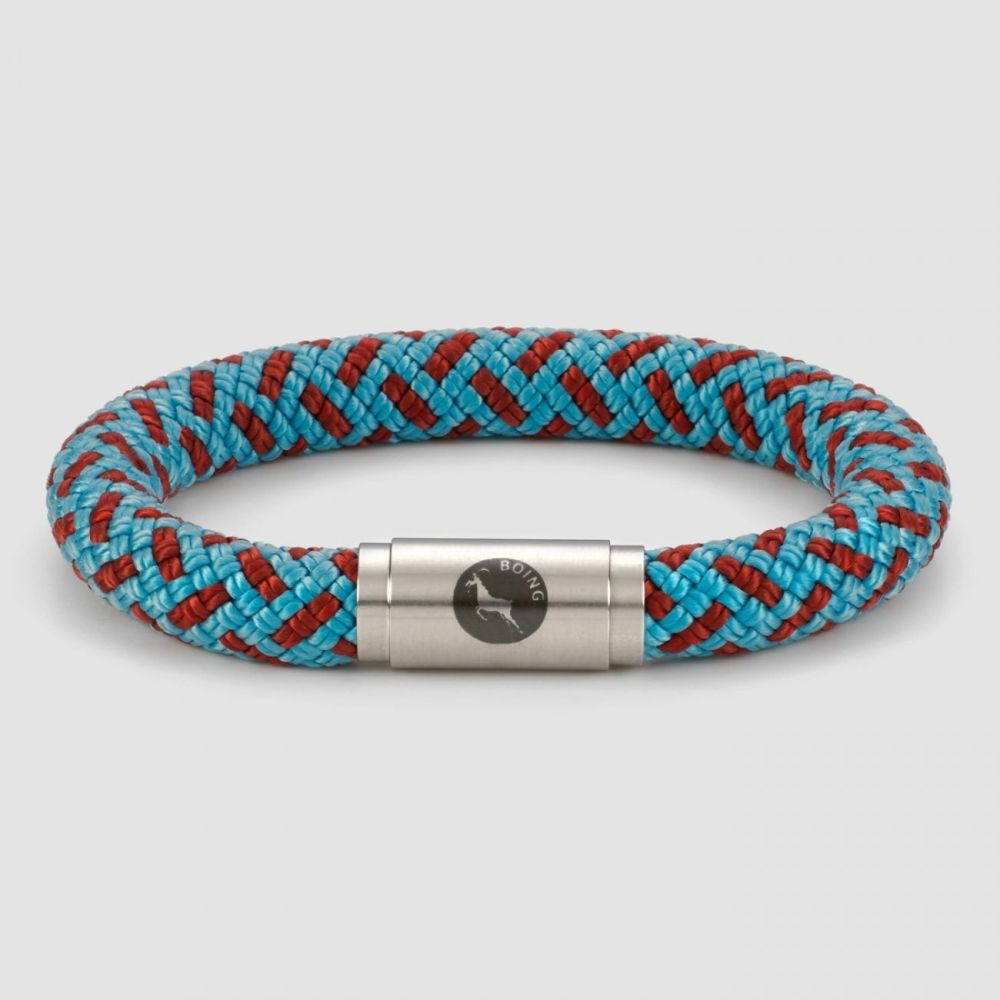 Gents Boing Bracelet Inca Blue Chunky
