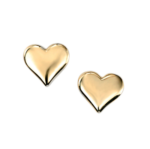 CLASSIC HEART STUD EARRINGS