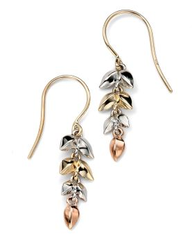 LEAF CASCADE EARRINGS