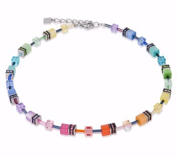 MULTI COLOUR PASTEL NECKLACE