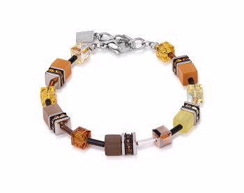 YELLOW-BROWN BRACELET