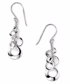 CIRCLE CASCADE EARRINGS