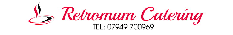 Retromum Catering, site logo.