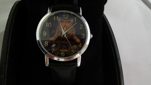 The reader wrist watch