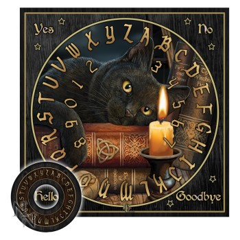 the witching hour Ouija board  warning this is not a toy. Not for sale to the under 18's