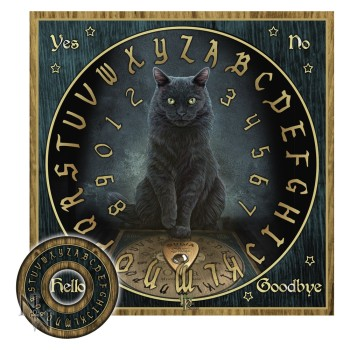 his masters voice ouija board  warning this is not a toy, not for sale to the under 18's