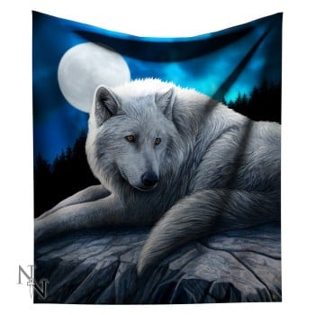 160cm snuggle up fleece throw Guardian of the North in stock 5th October