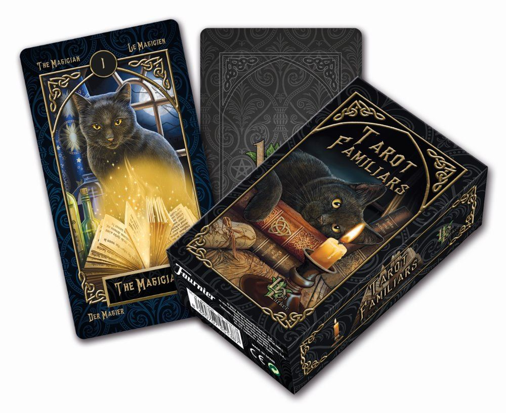 familiar tarot cards in stock