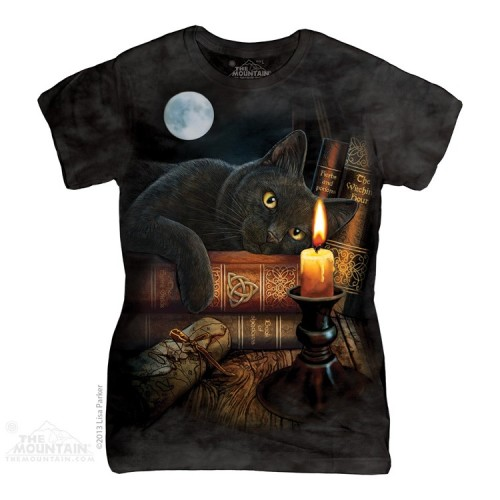 The witching hour ladies fit tshirt