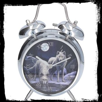 Alarm clock Warriorsof Winter by Lisa Parker with real bell ringer avaialable 11th spetember silver case