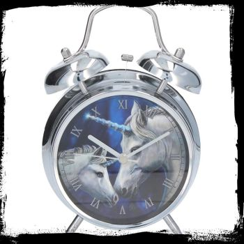 Alarm clock Sacred Love Unicorn by Lisa Parker available 11th september