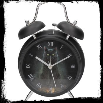 Alarm clock  his masters voice by Lisa Parker in black case. Available 11th Sept