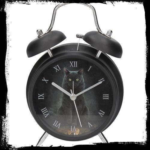 Alarm clock  his masters voice by Lisa Parker in black case. Available 11th