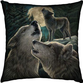 wolf song cushion satin finish