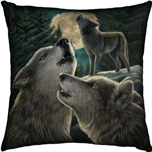wolf song cushion satin finish