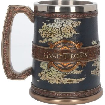 officially licensed game of thrones tankard 14cm in gift box