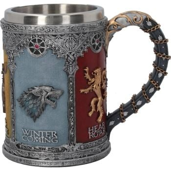 winter is coming tankard offical license game of thrones tankard