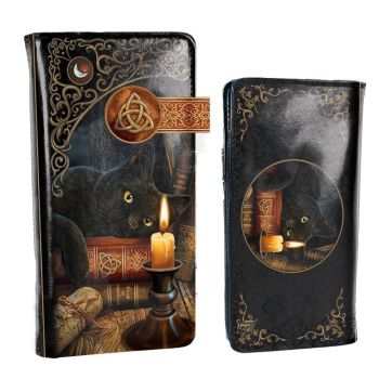 The witching hour embossed purse