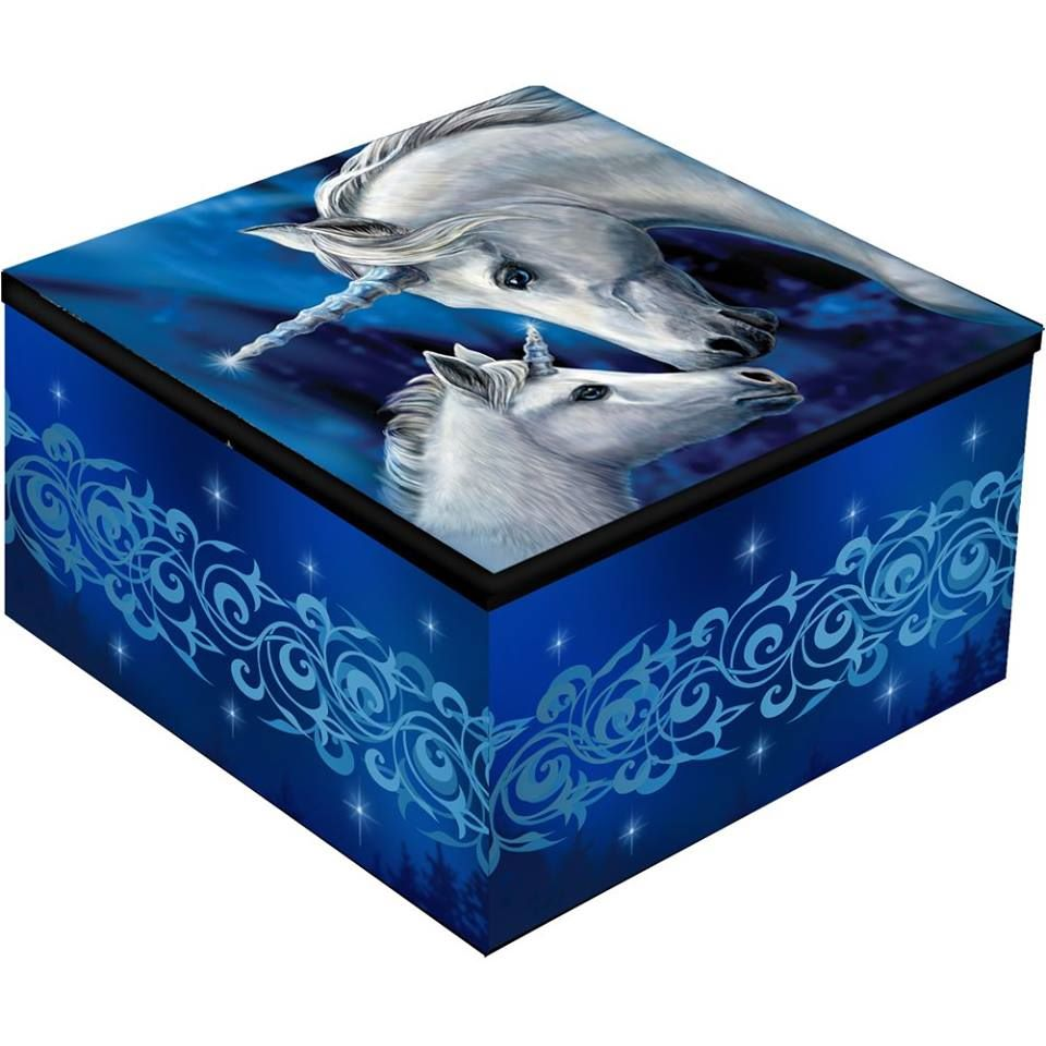All types of trinket boxes