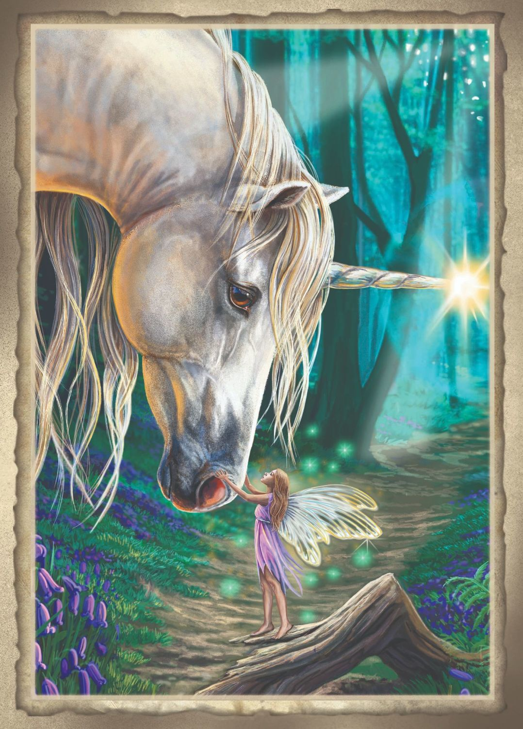 Fairy Whispers A2 size  signed