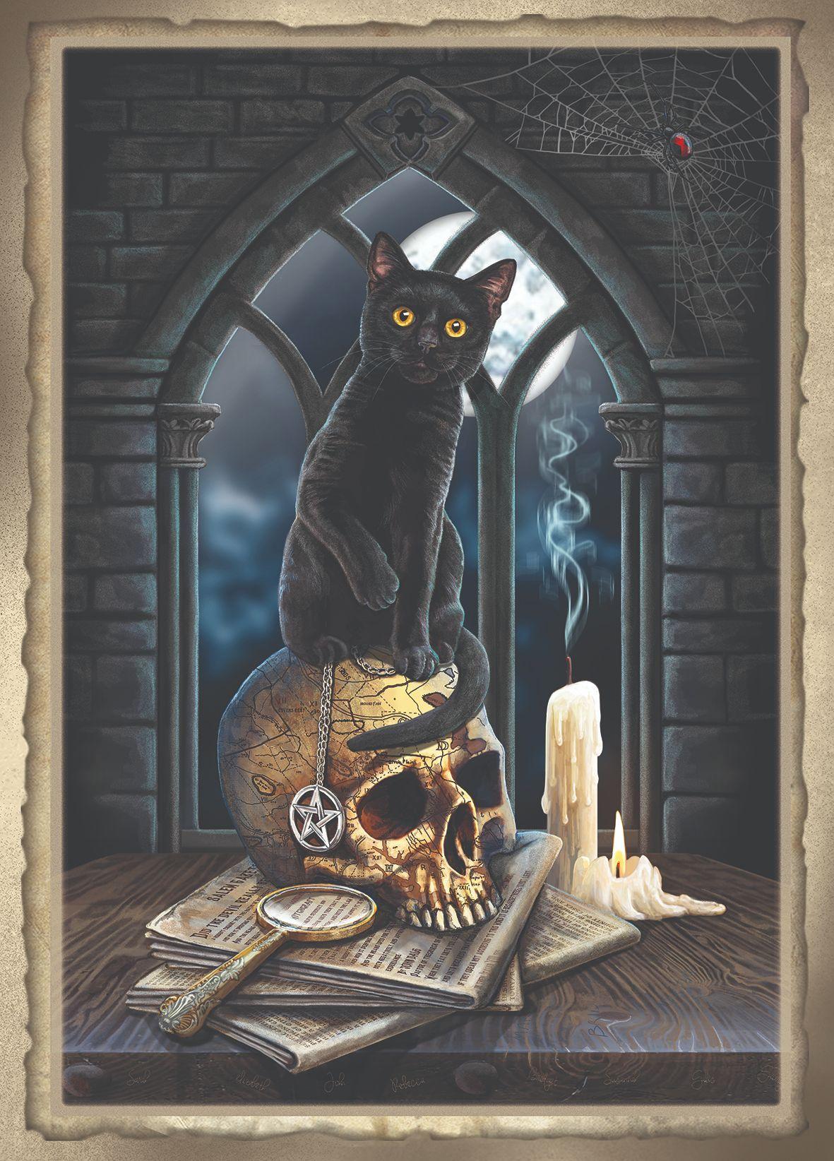 Spirits of Salem A2 print signed by Lisa Parker