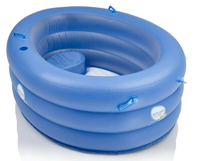 Mini Birth Pool In A Box -Hire Pool with Kit