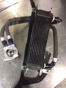Fiesta R2 Oil Cooler Kit