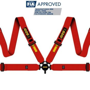 RRS FIA EVO 4 2020 2.5 kg red harnesses (4pts)