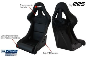 RRS DAKAR 2 FIA artificial leather seat 2020