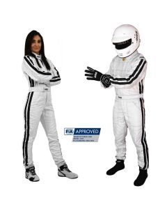 RRS EVO Diamond FIA Race suit - Silver