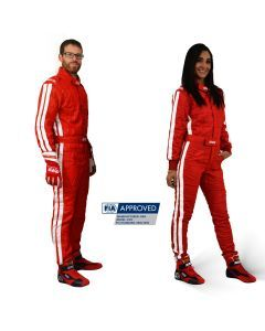 RRS EVO Diamond FIA Race suit Red