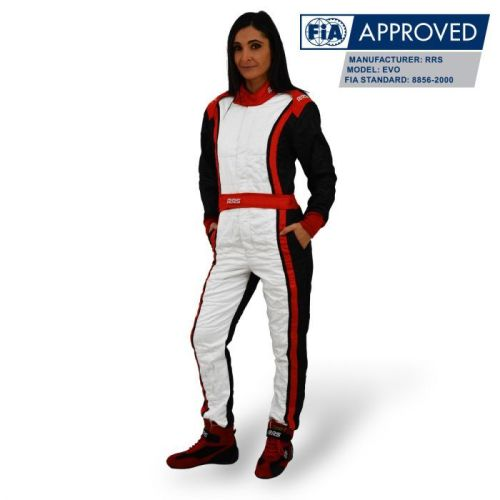 RRS Avanti FIA race suit - Red/Black/White