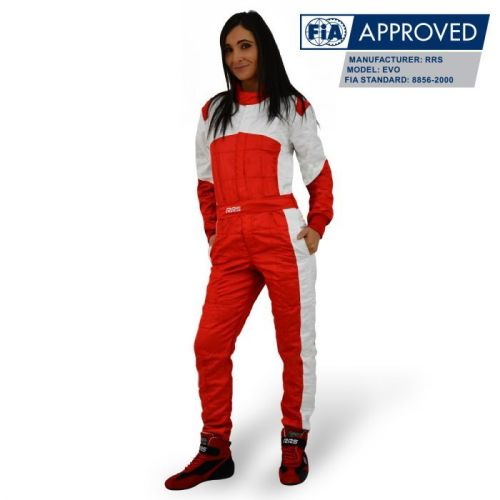 RRS Monza FIA race suit - Red/White