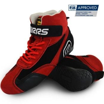 Racing Boots RRS FIA Red