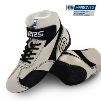 Racing Boots RRS FIA White