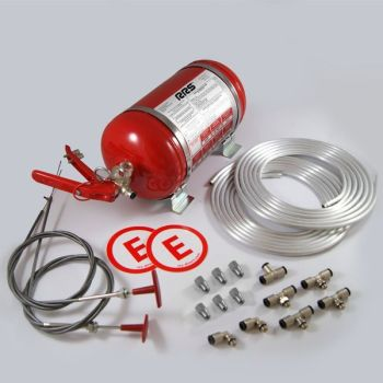 RRS ECOFIREX FIA automatic mecanical steel extinguisher kit