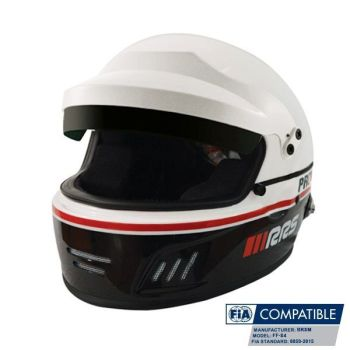 Helmet Protect Full face Rally RRS FIA 8859-2015 - Black