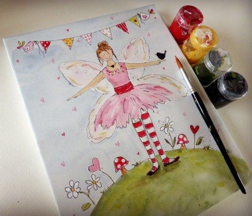 Simple Fairy Painting