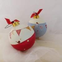 heirloom bauble - bunting