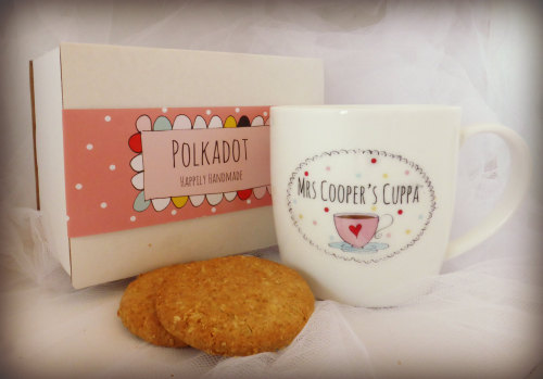 Personalised mug, perfect teacher's gift!