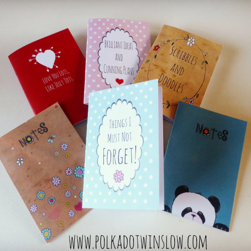 COMING SOON A6 printed notebooks